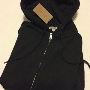 Burberry Hoody Black XL L Burberry Sleeve